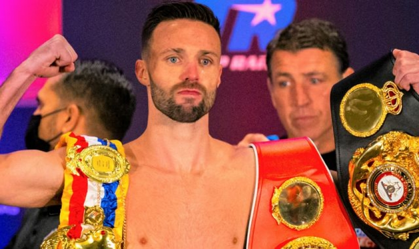 Josh Taylor's undisputed world-title fight against Jack Catterall rescheduled after Scotsman suffers knee injury